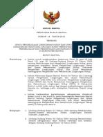 Peraturan Bupati 2012 18