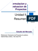 Proyect Management Unidad II Estudio de Mercado