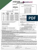 Insta-Cash Form Transactor (00094000200) March 31, 2015
