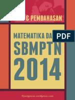 Soal Matematika Dasar Dan Pembahasan Lengkap SBMPTN 2014