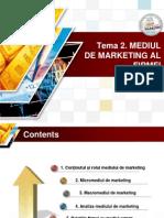 Tema 2. Mediul de Marketing Buzd Ppt