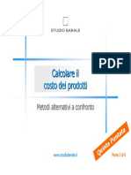 Calcolare Il Costo Dei Prodotti_Parte_5