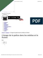 LeCrime.fr - Analyse - Colloque CNRS - Police entre fiction et non fiction | Le crime.fr