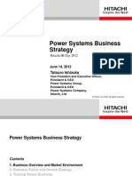 Hitachi Power Systems Business Strategy