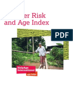 Disaster Risk and Age Index