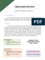 PHP, MySQL, JavaScript Course Outline WCSD-301