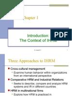 IIHRM Chapter 1
