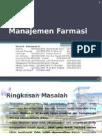 Manajemen Farmasi Kelompok 2