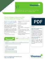 GIA Fact Sheet