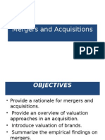 Mergers and Acquisitions 1