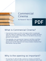 commercial cinema research task