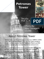 Petronas Tower Construction