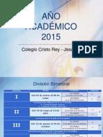 Calendarización Bimestral 2015(1)