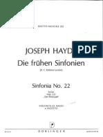 Haydn-Sinfonia 22-Cello Bajo y Fagot