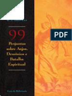 99 Perguntas Sobre Anjos, Demônios e Batalha Espiritual - B.J. Oropeza