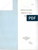 IRC 108-1996 Guidelines for Traffic Prediction on Rural High