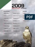 2009 Atlanta Falcons Media Guide