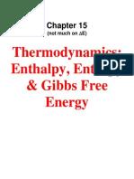 1422 Chapt 15 Thermodynamics