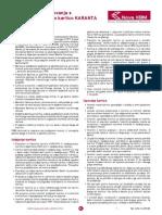 Splošni Pogoji Poslovanja s Poslovno Kartico Karanta