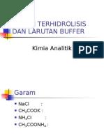 [KA] Garam Terhidrolisis dan Larutan Buffer.ppt