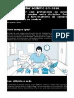 Como Estudar Sozinho Em Casa