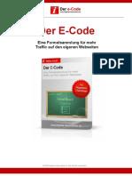 Der E-Code - Mehr Traffic für Ihre Website
