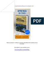 Conheça o E-book Projetos de Prefeitura