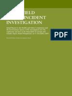 Bunce Field incident report