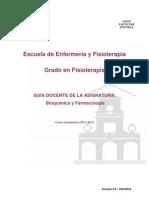 Guia Docente de Bioquímica y Farmacología