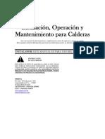 Manual de Funcionamiento Caldera