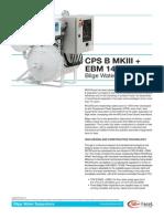 Model Cps b Mkiii Ebm 14x Bilge Water Separators