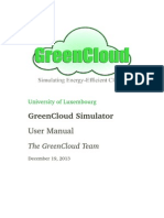 Greencloud User Manual