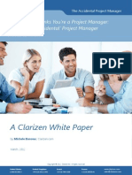 Clarizen the Accidental Project Manager White Paper