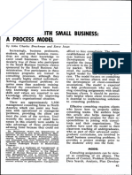 Consulting With Small Business a Process Model