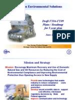 Five Yasfdasar Plan Petroleum Environmental Start FY 04