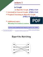 CS6234 L1 Matching