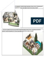Descreva Casa e Apartamento