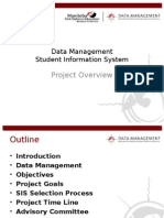 Student Information System Overview Updated 11-30-2010