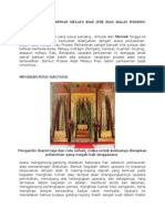 Prosesi Adat Perkawinan Melayu Riau