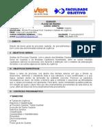 Celso Filho Plano de Ensino Cautelar e Tut de Urgência -8b - Noturno- 2015-1