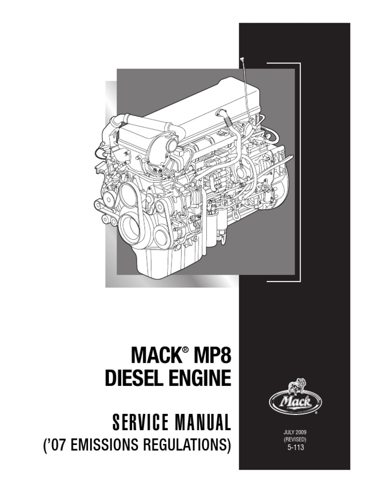 Manual camion mack manual de mantenimiento motores mp7 mp8 mp10 camion mack pdf array 5 113 final pound mass gallon rh scribd fandeluxe Choice Image