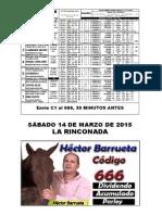 SEMANARIO HÍPICO DEL SABADO