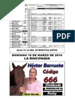 SEMANARIO HÍPICO DEL DOMINGO