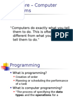 Introduction to Programming II