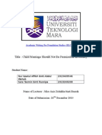 Academic Writing for Foundation Studies