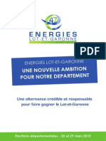 Programme Energies Lot-et-Garonne