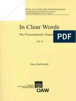 In Clear Words - The Prasannapadā, Chapter One Vol II - Annotated Translation, Tibetan Text