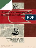 Periodismo Digital. Análisis y Propuestas