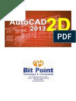 Apostila AutoCAD 2013 (MOD. 2D) - Professor de Ney