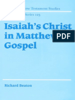 Isaiah's Christ in Matthew's Gospel
